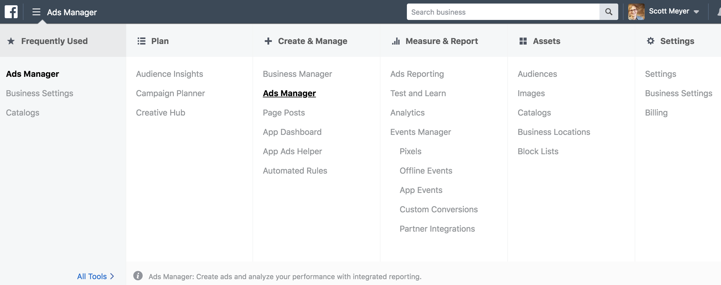 Ads Manager for Facebook