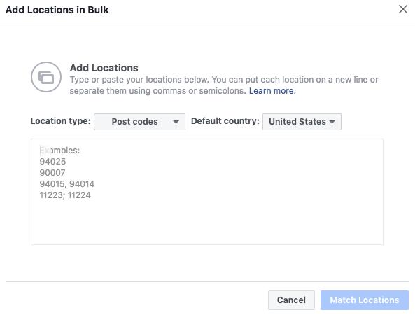 bulk locations