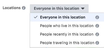 resident targeting facebook