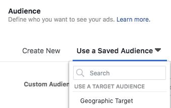 Saving audience